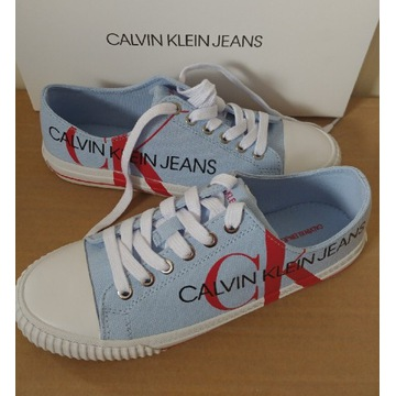 Trampki Calvin Klein Jeans r.38 NOWE w pudełku
