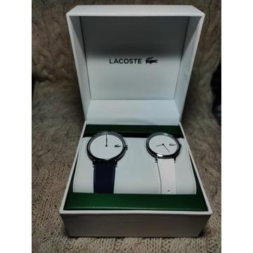 Lacoste 2070002 zestaw set dwa zegarki paski