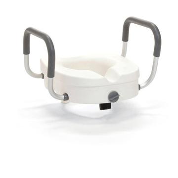 Nasadka toaletowa WC z podłokietnikami 12 cm TINA