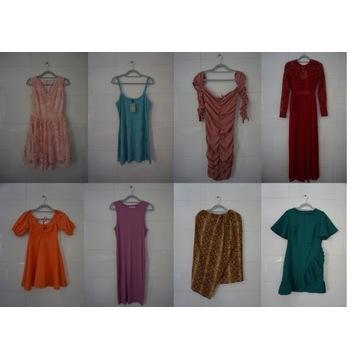 Paka spódnica, sukienki h&m, sinsay, nelly, mango