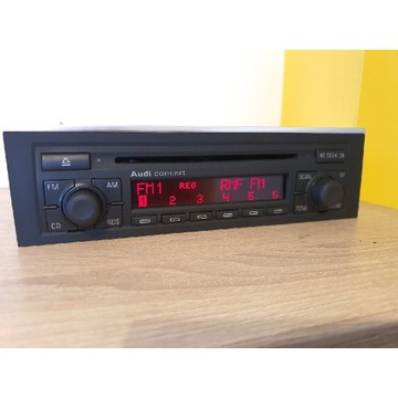 Radio samochodowe Audi Concert 2 CD + kod BDB stan