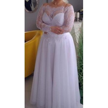 Suknia ślubna rozmiar 42/44 + buty gratis