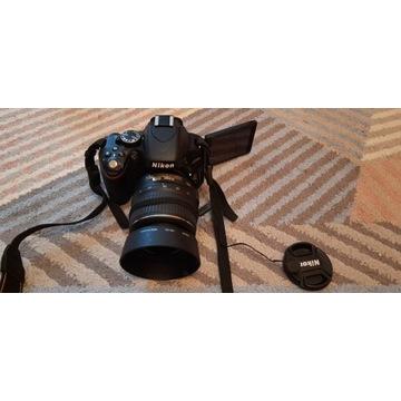 Nikon D5100 18-55 bardzo niski przebieg 2675