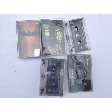 Zestaw kaset Batman Fun lovin skunk Living colour