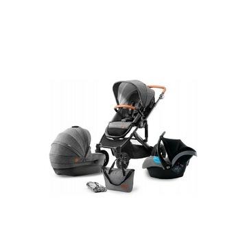 Wózek dziecięcy Kinderkraft PRIME 3w1