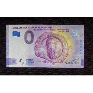 0 Euro - Muzeum Diecezjalne w Tarnowie, stan UNC