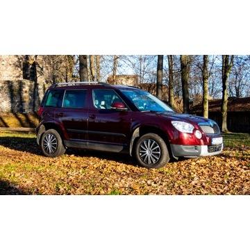 Skoda Yeti 1.8  Benzyna 160 km 4x4 Rok prod. 2010