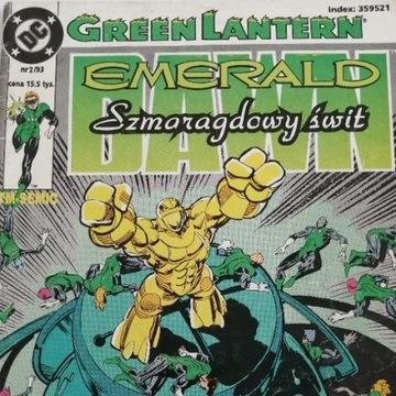GREEN LANTERN Szmaragdowy Świt 2/1993