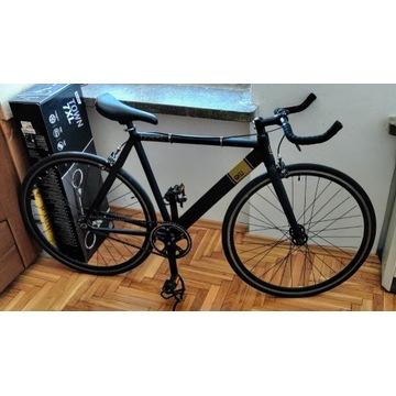 Rower 6KU Track Black/Czarny ostre koło