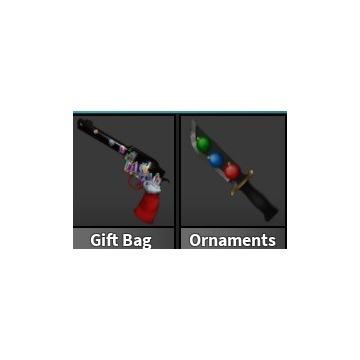 Roblox Murder Mystery 2 Gift Bag + Ornaments