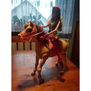 Barbie na koniu