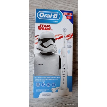 Szczoteczka elektryczna Oral-B Kids 6+ Star Wars