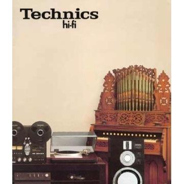 Katalog Technics Hi-Fi z 1980