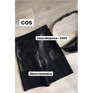 Spodenki bermudy COS skora naturalna Spodnie dutti