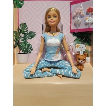 Barbie  Medytująca + Akcesoria Dźwięk Światło