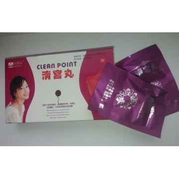 Clean Point 6 tamponów ziołowych perła księżniczki