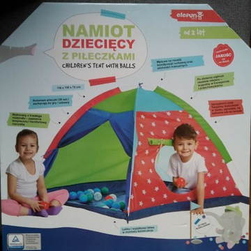 Namiot dziecięcy z piłeczkami Nowy
