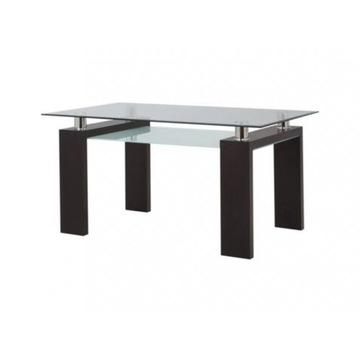 Stół z blatem z hartowanego szkła