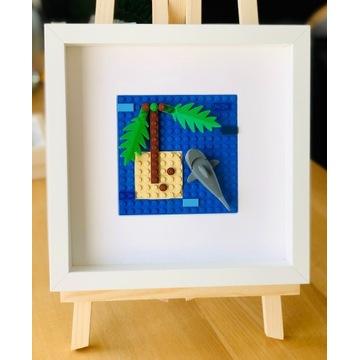 """LEGO_obraz """"Rekin""""_wyjątkowy prezent"""