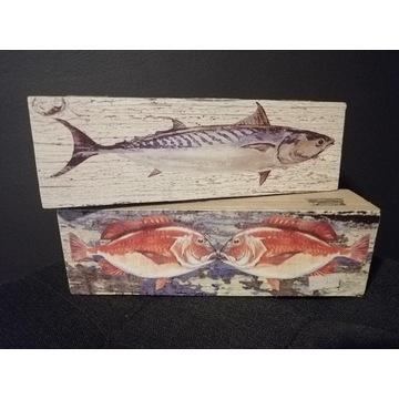 Pudełko szkatułka morskie