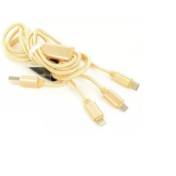 ACCURA ACC2157 USB 2.0 MicroUSB/LIGHTNING/USB C
