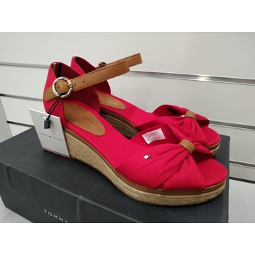 Espadryle TOMMY HILFIGER_Tango Red