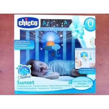 Chicco panel na łóżeczko pozytywka lampka nowy