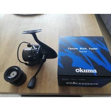 Okuma Custom Black Feeder Clx-55