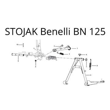 OKAZJA! STOJAK Benelli BN 125 - STOPKA CENTRALNA