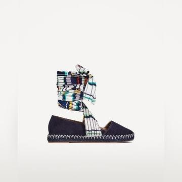 Zara, nowe skórzane buty, cudo, boho styl