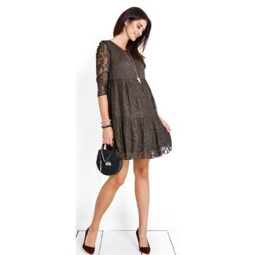 Happy mum sukienka ciążowa khaki rozmiar M