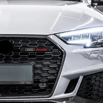 Led Emblemat znaczek Logo Audi w grill