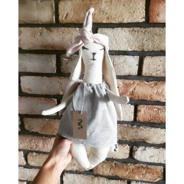 MAMI przytulanka królik dla dziecka dekoracja