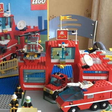 LEGO 6389 Fire Control Center Remiza Komenda Straż