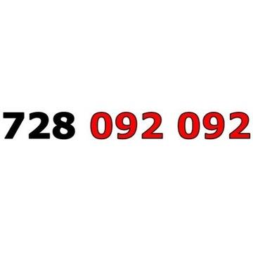 728 092 092 ŁATWY ZŁOTY NUMER STARTER