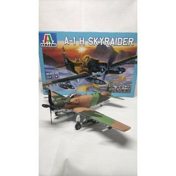 A-1 H SKYRAIDER 1/48 ITALERI 2628 Gotowy