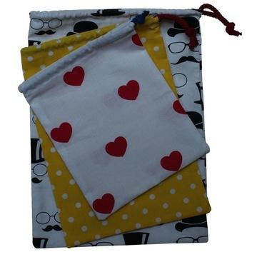 Bawełniane woreczki na zakupy
