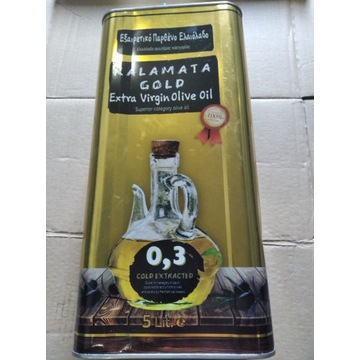 Oliwa z oliwek - Gold Kalamata 5l