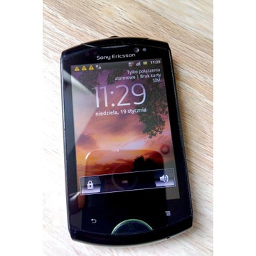 Smartfon Sony Ericsson live walkman wt19i
