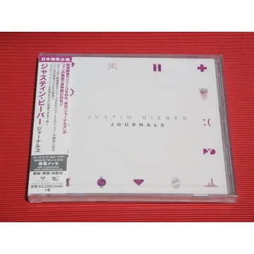 JUSTIN BIEBER Journals JAPAN CD + OBI 15 Tracks