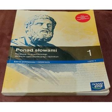 Podręcznik do języka polskiego Ponad Słowami 1 kl.