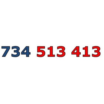 734 513 413 ZŁOTY ŁATWY NUMER STARTER