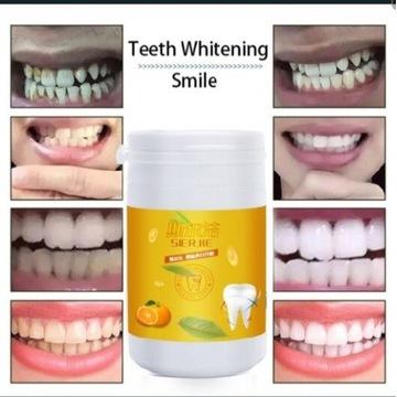 Proszek pasta wybielanie zębów