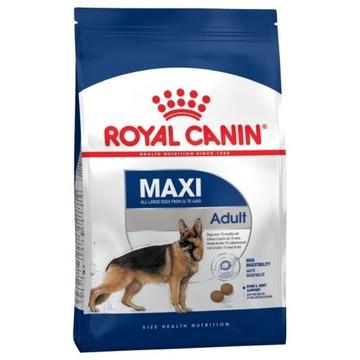 ROYAL CANIN MAXI AD. 15kg (USZKODZONE OPAKOWANIE)