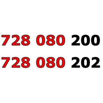 728 080 20x ŁATWY ZŁOTY NUMER STARTER PARA