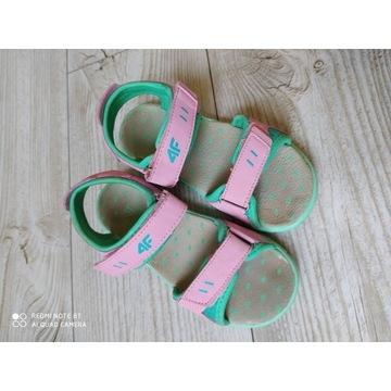 Sandały dziewczęce 4f rozmiar 31