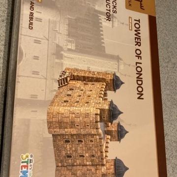 Innowacyjne cegiełki do budowania - TOWER OF LONDO