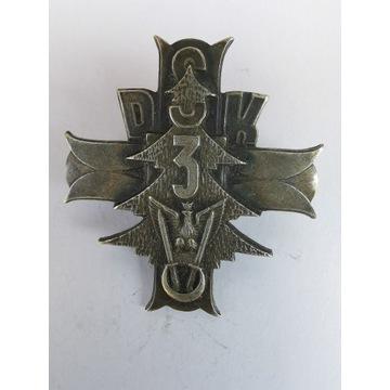 Odznaka pamiątkowa 3 Dywizja Strzelców Karpackich