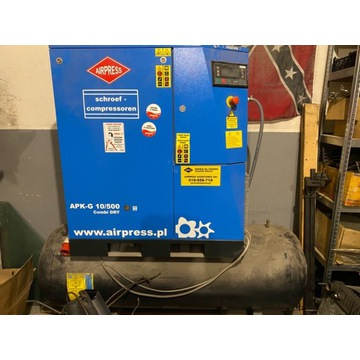 Kompresor APK-G 10/500 osuszacz
