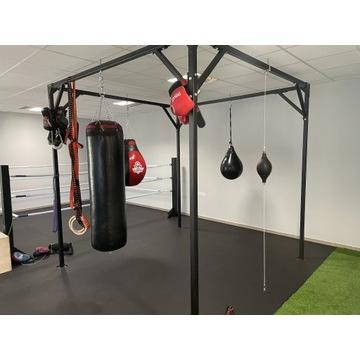 Stelaż do worków bokserskich trx kolka gimnastyczn